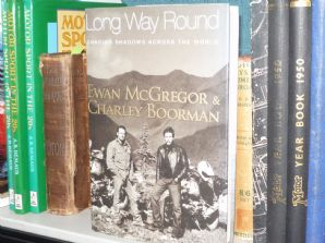 LONG WAY ROUND : THE  Chasing Shadows Across The World (Ewan McGregor & Charlie Boorman 2004 hardback)